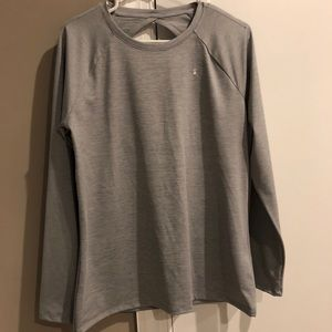 Under Armour NWT open back long sleeve top